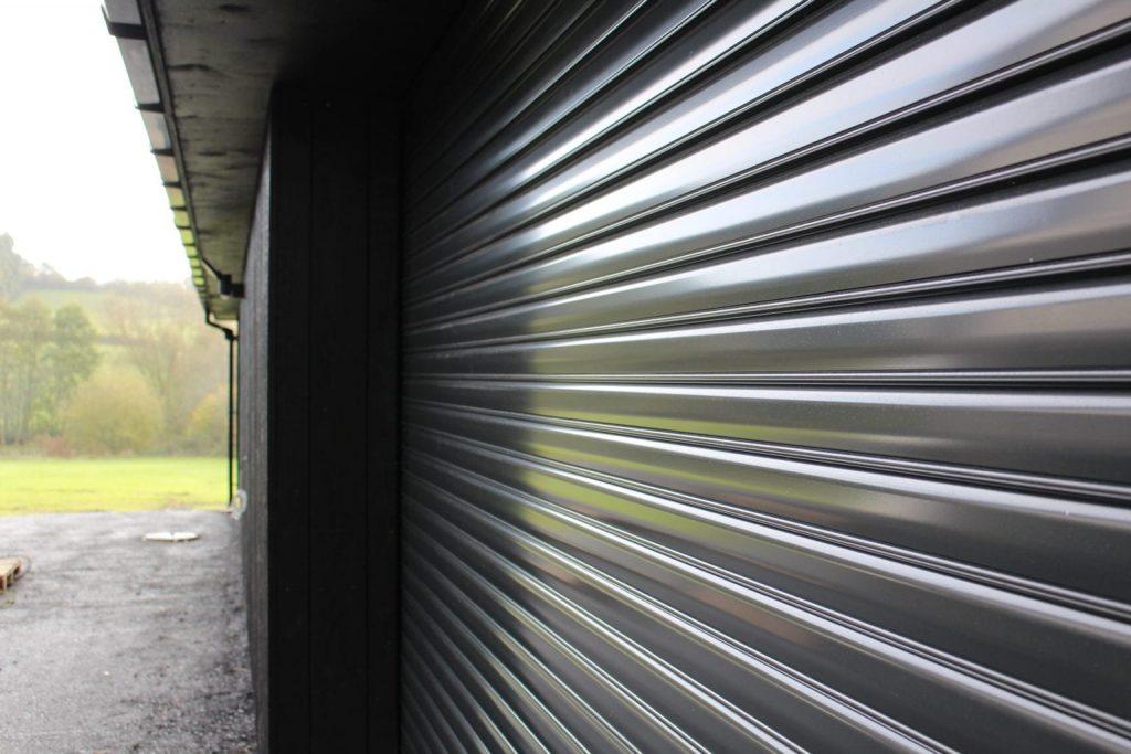 high security garage door