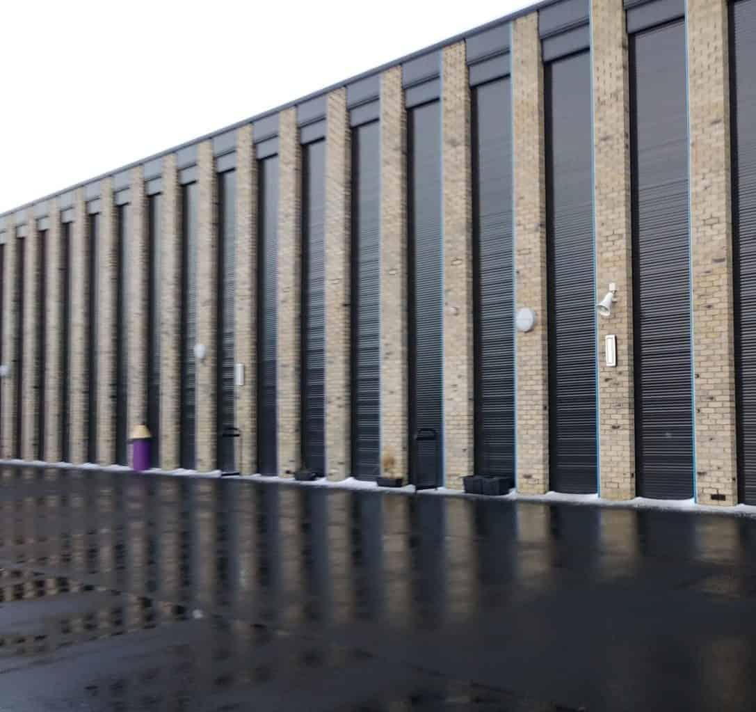 Bespoke lintel security shutters